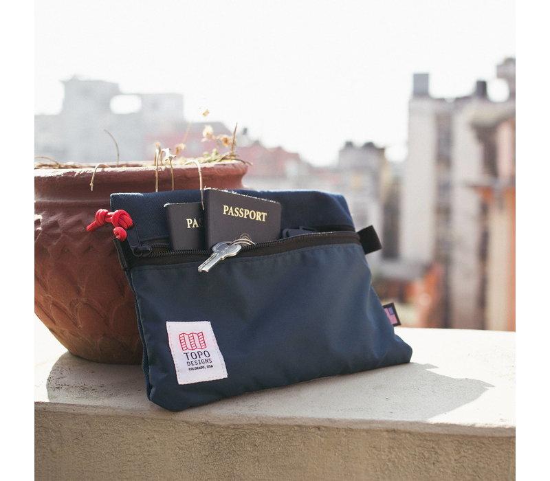 Accessory Bags - Medium - Blue/Red