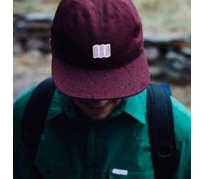 Mini Map Hat - Natural