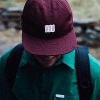 Mini Map Hat - Olive