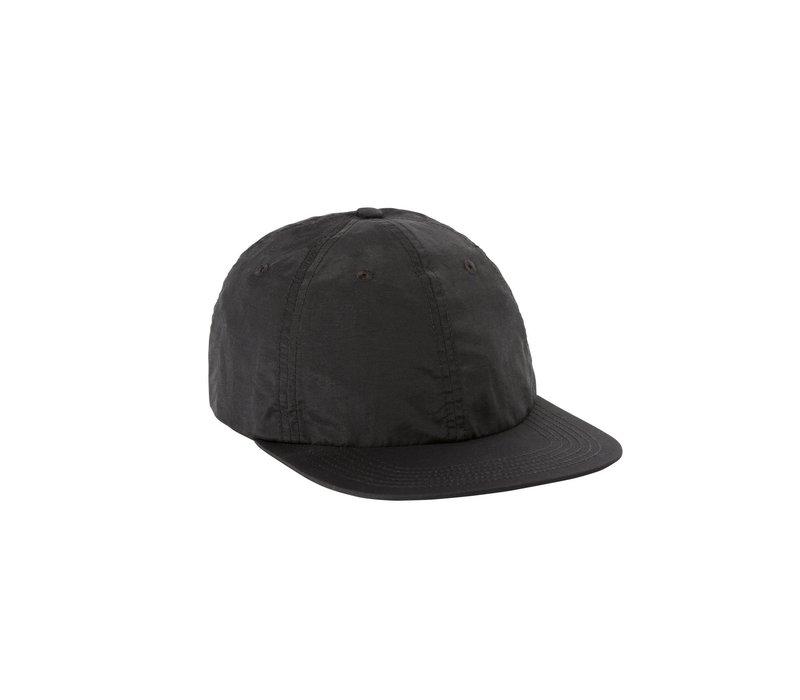 Nylon Ball Cap -  Black