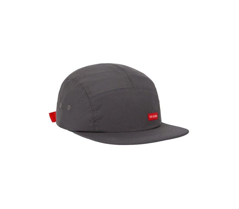 Nylon Camp Hat - Charcoal