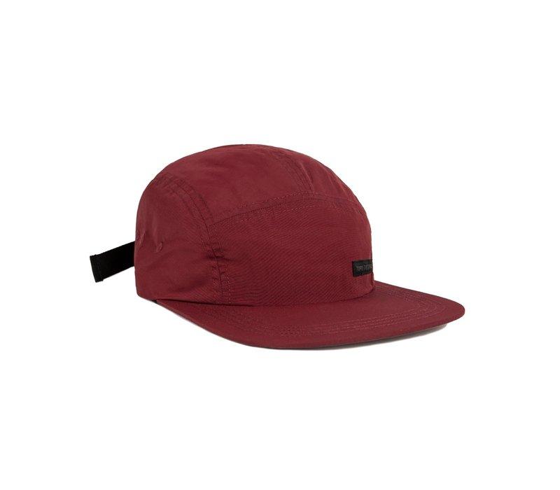 Nylon Camp Hat - Maroon