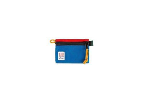 Topo Designs Accessory Bag - Micro - Blue/Red