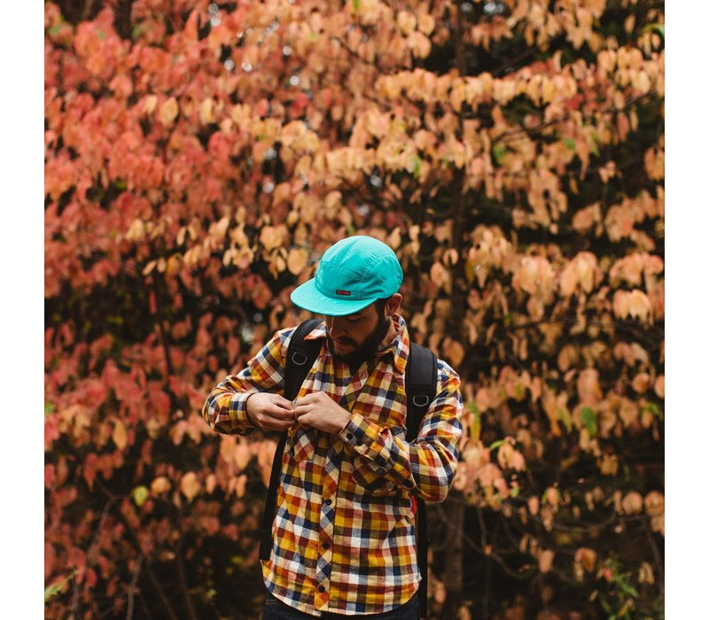 Nylon Camp Hat - Rust