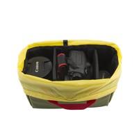 Camera Cube - Navy/Yellow