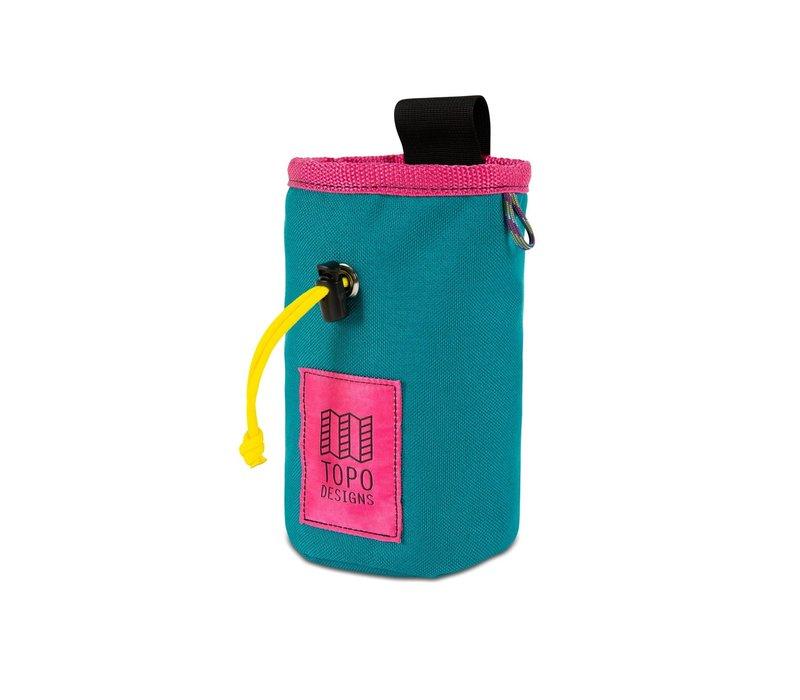 Chalk Bag - Turquoise/Pink