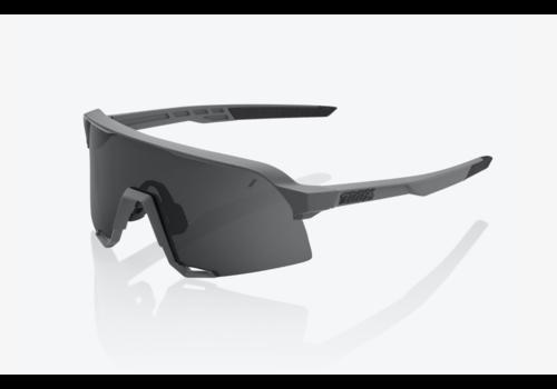 100% S3 - Matte Cool Grey w/ Smoke Lens