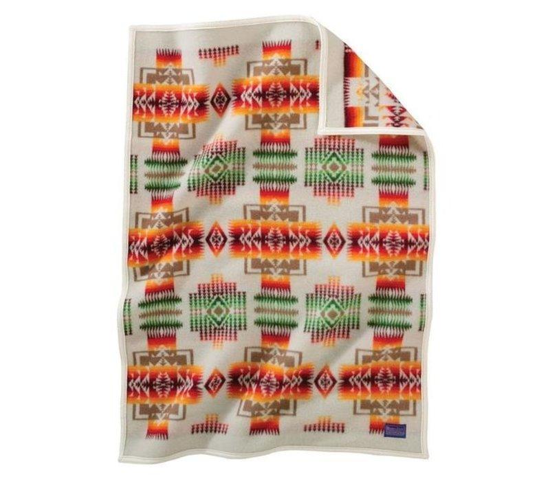Chief Joseph KIDS Blanket- Ivory