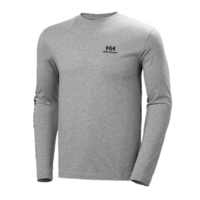 YU20 LS T-Shirt - Grey Melange