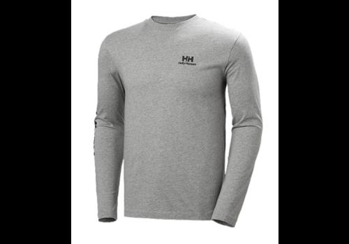Helly Hansen YU20 LS T-Shirt - Grey Melange