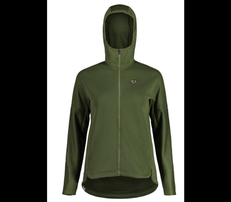 SowaM. Fleece Jacket-Moss