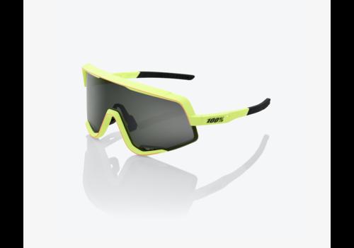 OAKLEY Glendale - Neon Yellow - Smoke Lens