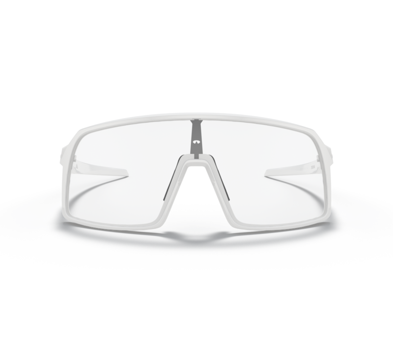 Sutro Polished White W/ Clear