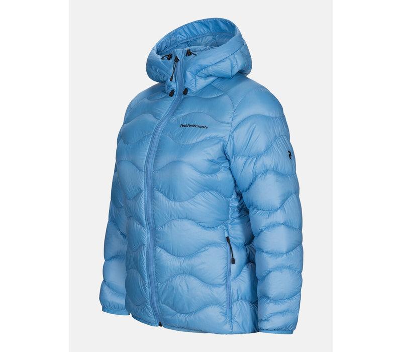 W Helium - Hood Jacket - Blue Elevation