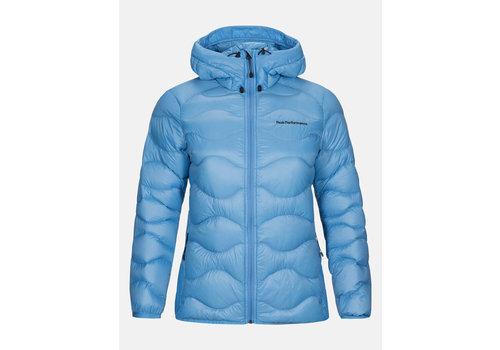 Peak Performance W Helium - Hood Jacket - Blue Elevation