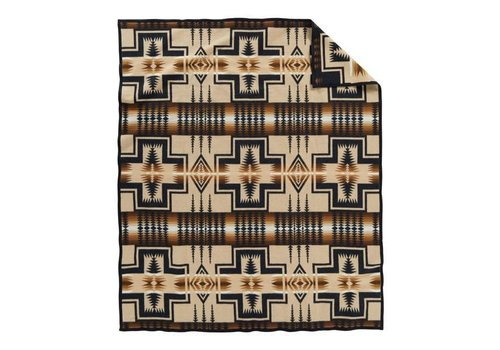 Pendleton USA Harding Blanket -Twin - Oxford