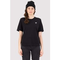 Womens Icon -  Relaxed Tee RDG - Black