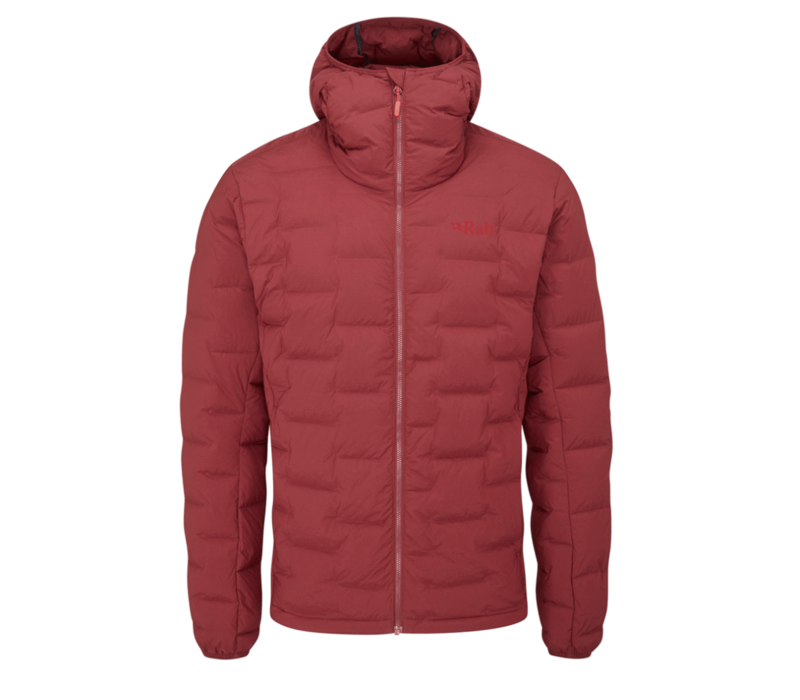 Cubit Stretch Down Hoody - Oxblood Red