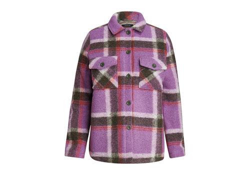 Peak Performance W Kelly Wool Shirt Jacket - 908 Check
