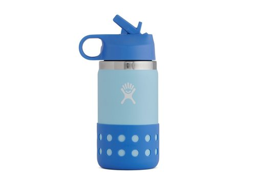 Hydro Flask 12 OZ Kids Wide Mouth Straw Lid & Boot