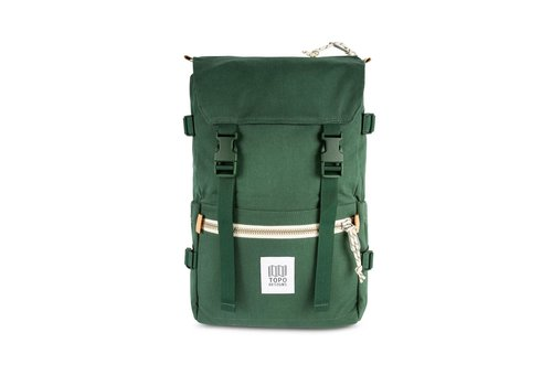 Topo Designs Rover Pack Classic - Forest Canvas