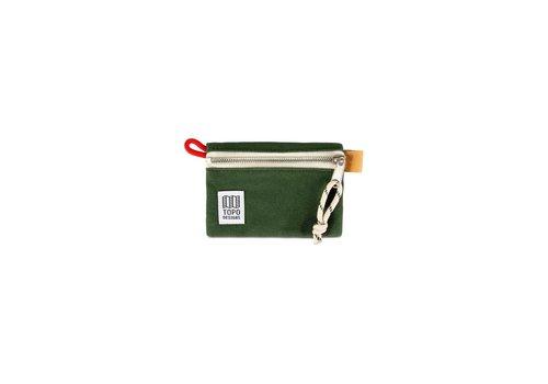 Topo Designs Accessory Bag Micro - Forest Canvas