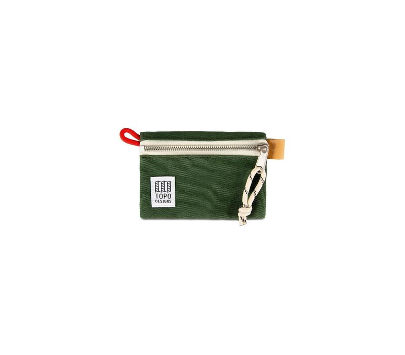 Accessory Bag Micro - Forest Canvas