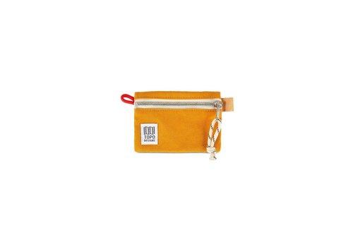 Topo Designs Accessory Bag Micro - Mustard Canvas