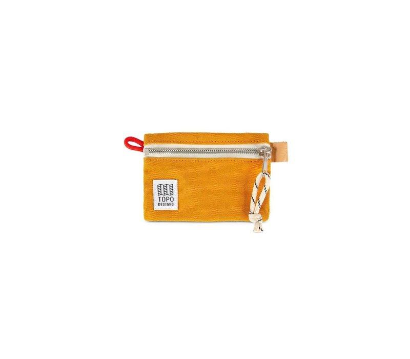 Accessory Bag Micro - Mustard Canvas