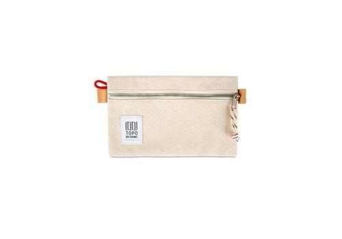 Topo Designs Accessory Bag Small - Natural Canvas