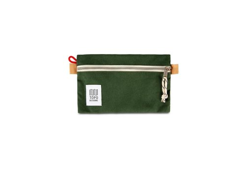 Topo Designs Accessory Bag Small - Forest Canvas