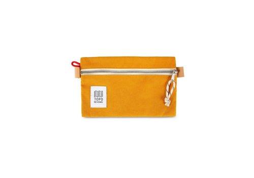 Topo Designs Accessory Bag Small - Mustard Canvas