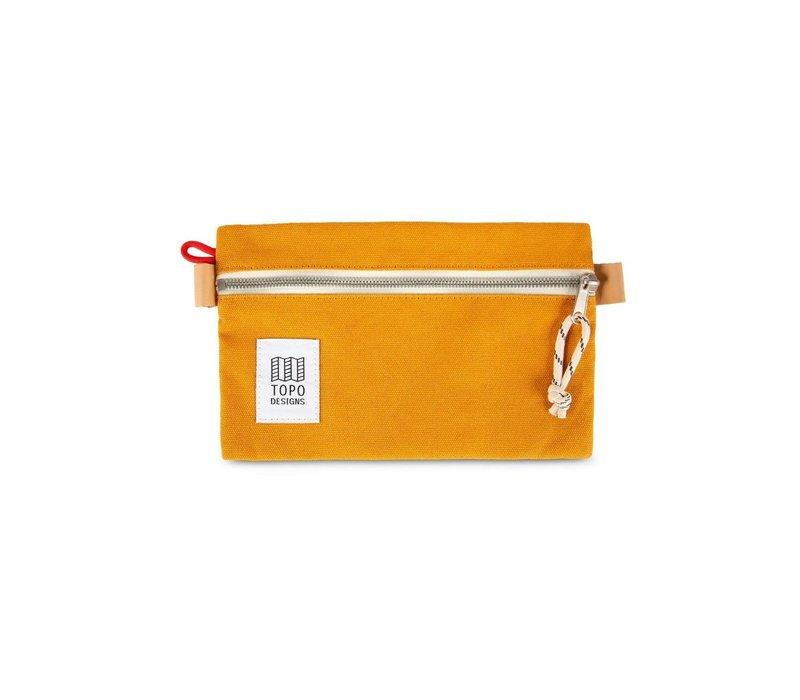 Accessory Bag Small - Mustard Canvas