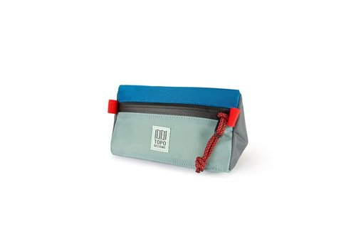 Topo Designs Bike Bag Mini - Mineral/Blue