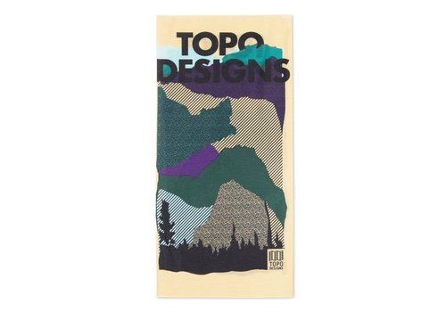 Topo Designs Topo Gaiter Red Mountain