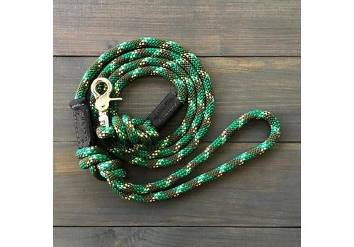 Camo Puck Clip Leash 5ft