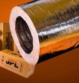 """MHP-25 Silver R4.2,  4"""" x 25' Insulated Class 1 Flexible Air Duct (AFW)"""