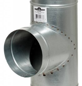 Active Air Tee Connector, 6 x 6 x 6""