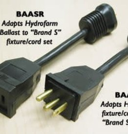 Hydrofarm Plug Adapter Brand S, BAASP