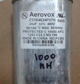 Hydrofarm Capacitor MH 1000W/Wet 24 MFD/480 VAC MIN
