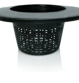 "Hydrofarm Wide Lip Bucket Basket Lid, 6"",  Per Unit"