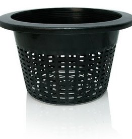 """Hydrofarm Wide Lip Bucket Basket, 10"""", bag of 50"""