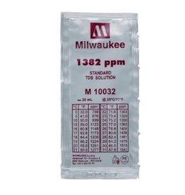 Milwaukee Instruments Milwaukee 1382 ppm TDS Solution, 20ml Per Unit