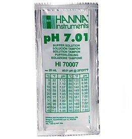 Hanna Hanna pH 7.01 Calibration Solution, 20ml Per Unit