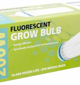 AgroBrite Compact Fluorescent Lamp, AGROBRITE, Cool, 200W, 6500K Grow