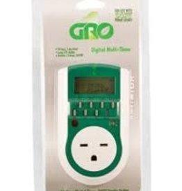 Timer, Gro Digital Single Outlet, 240V (AFW)