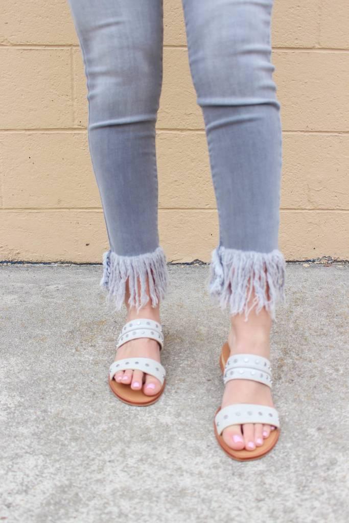 Karlie Fringe Bottom Jean