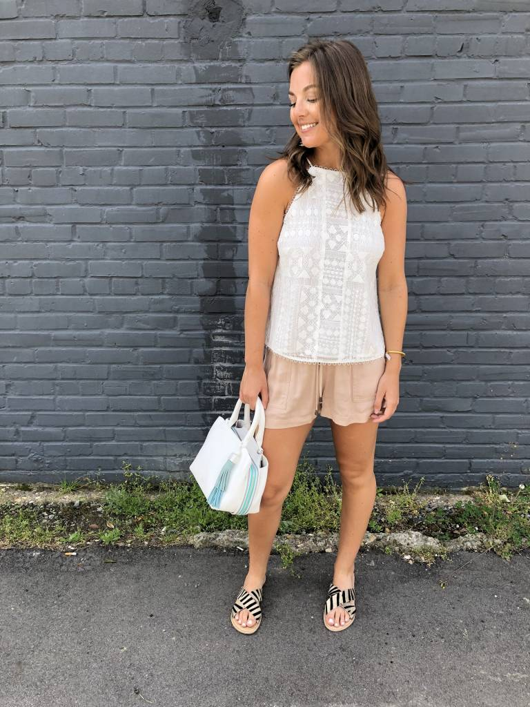 Greylin Lexi Lace Top