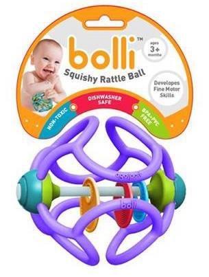 Bolli Bolli Squishy Rattle Ball