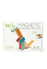 Tegu Tegu Magnetic Blocks 14 Piece Set